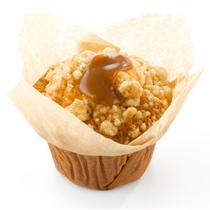 Appel caramel muffin