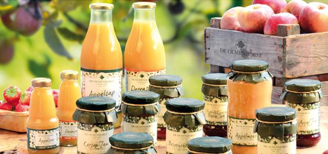 Biologische producten van landgoed de Olmenhorst